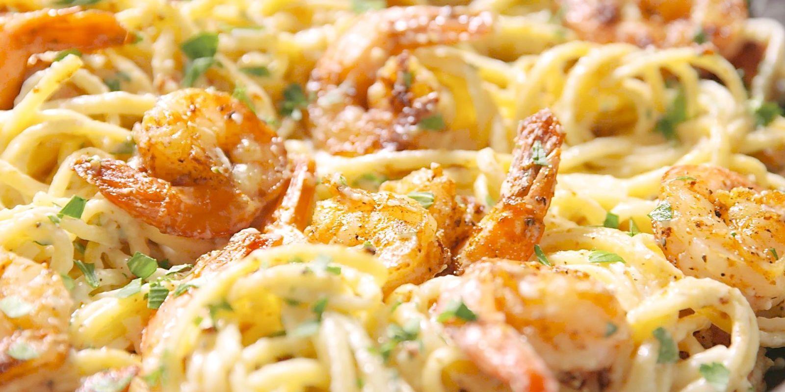 Cajun Shrimp Pasta recipe for managing PCOS and pregnancy ...