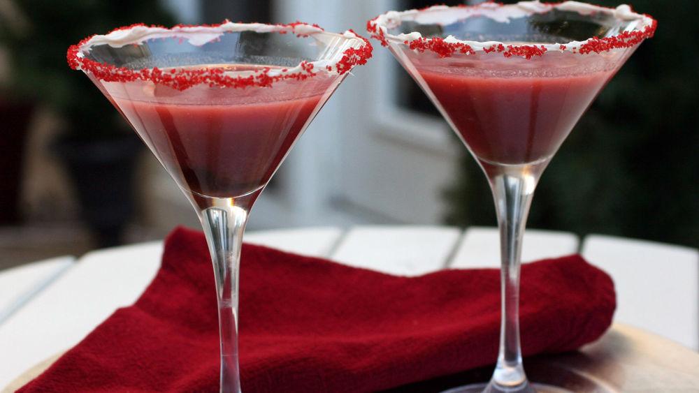 Red Velvet Cake Martini recipe for managing PCOS and pregnancy on