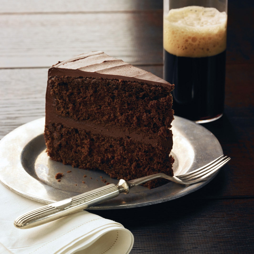 Chocolate Stout Layer Cake with Chocolate Frosting recipe for ...
