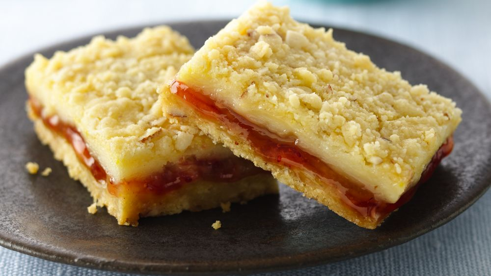 Strawberry Filled Lemon Cream Cheese Bars Recipe For Managing Pcos