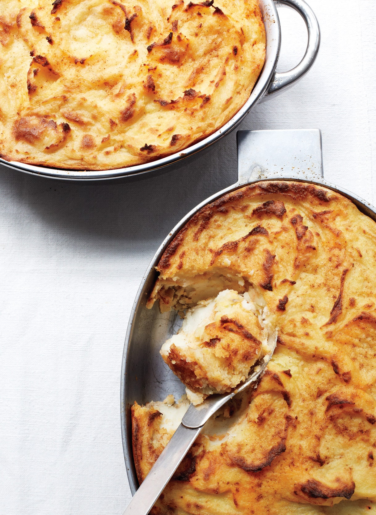 Chili Pot Pie with Polenta Crust foto
