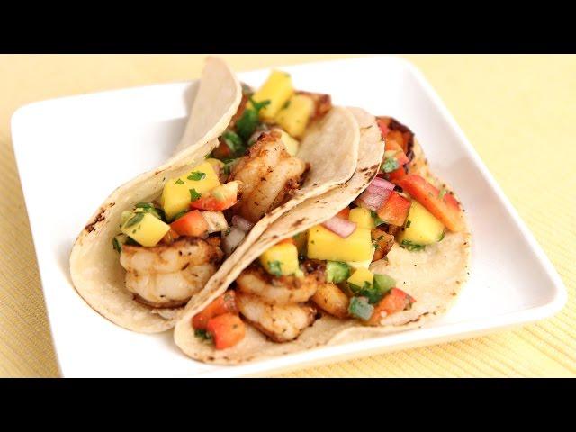 Grilled Jerk Shrimp Tacos Recipe - Laura Vitale - Laura in the ...