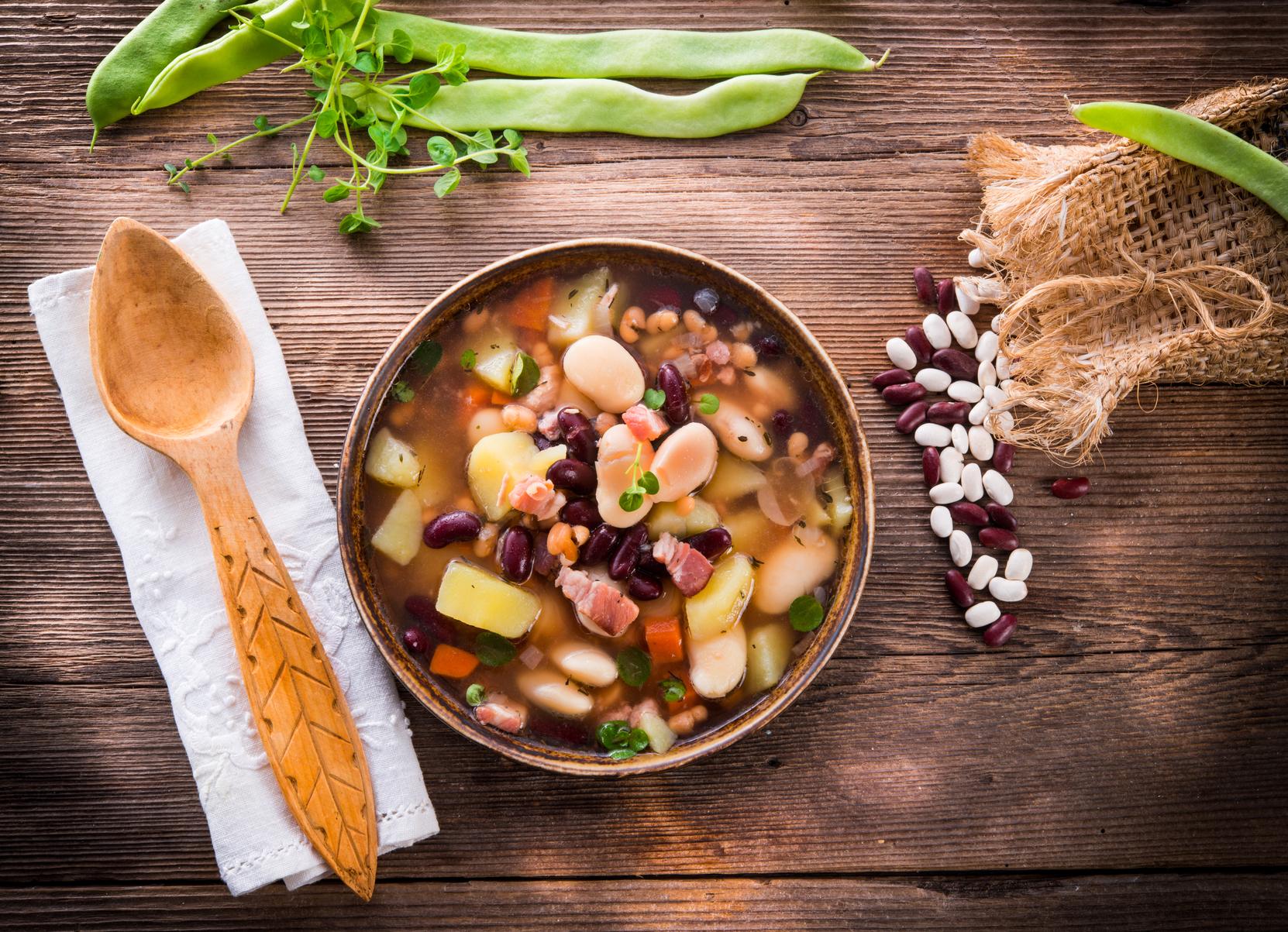 beans soup pcos